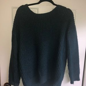 Dark Green Sweater from Urban Outfitters